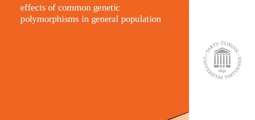 Geenid ja alkoholitarvitamine: levinud geenipolümorfismide mõju rahvastikus